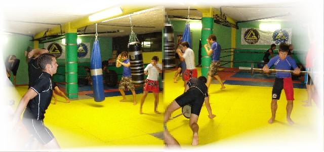 Preparazione al combattimento MMA presso palestra spazioforma