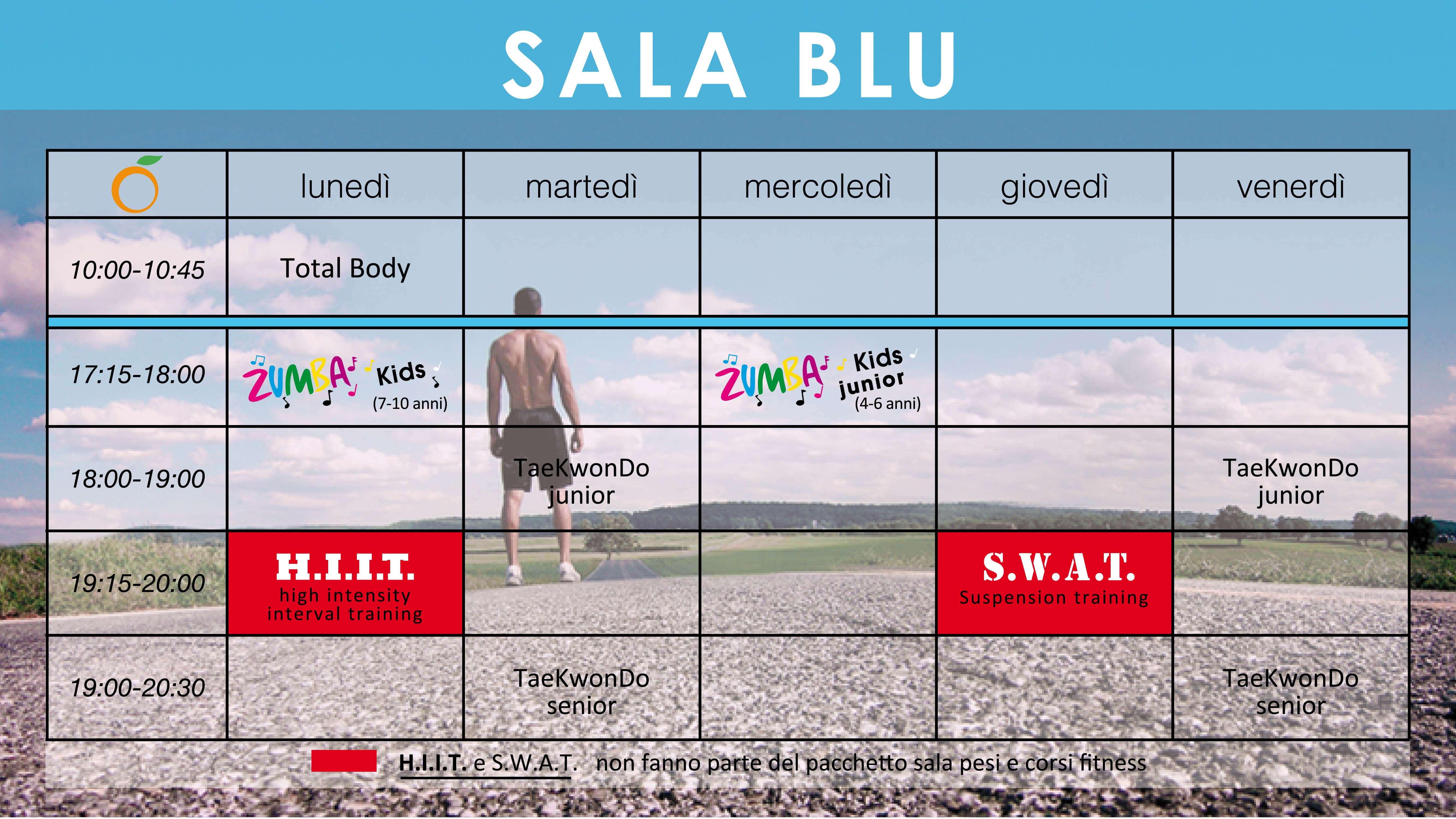 Sala Blu Spazioforma
