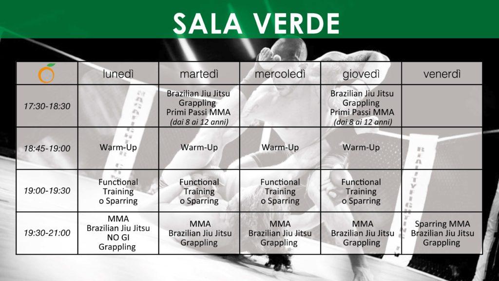 Sala Verde Spazioforma mma Biella