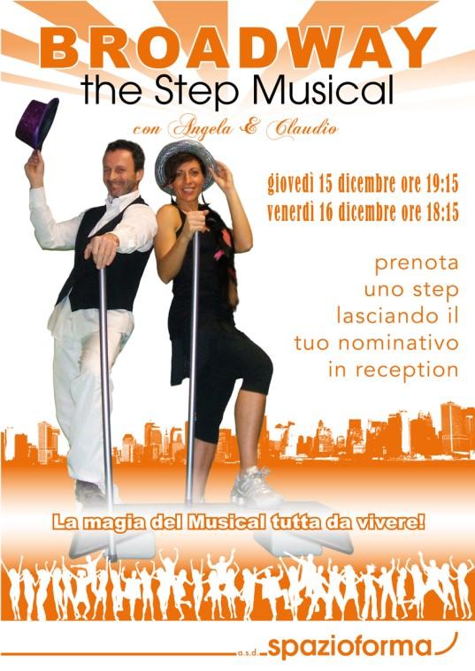 broadway step musical spazioforma biella