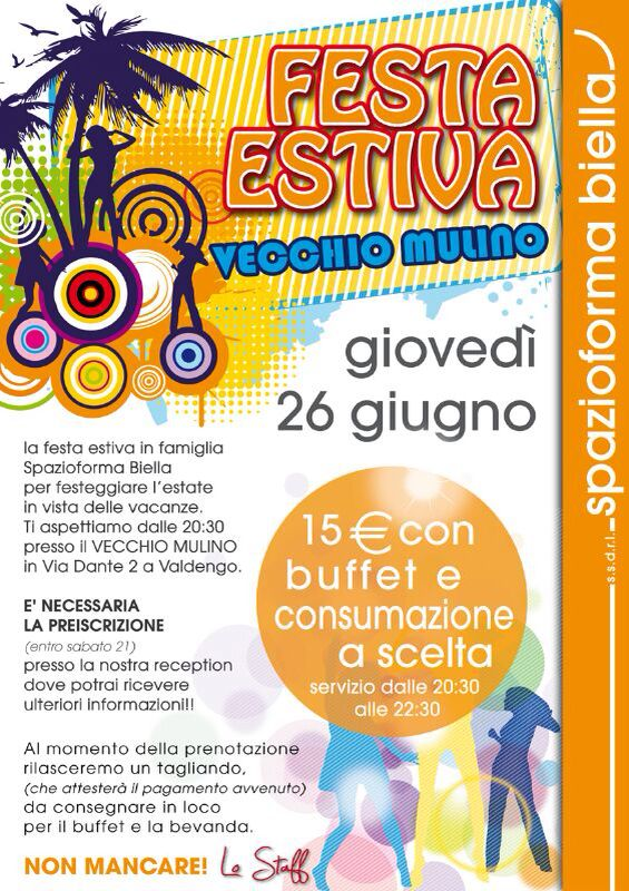 Festa Estiva Spazioforma 2014