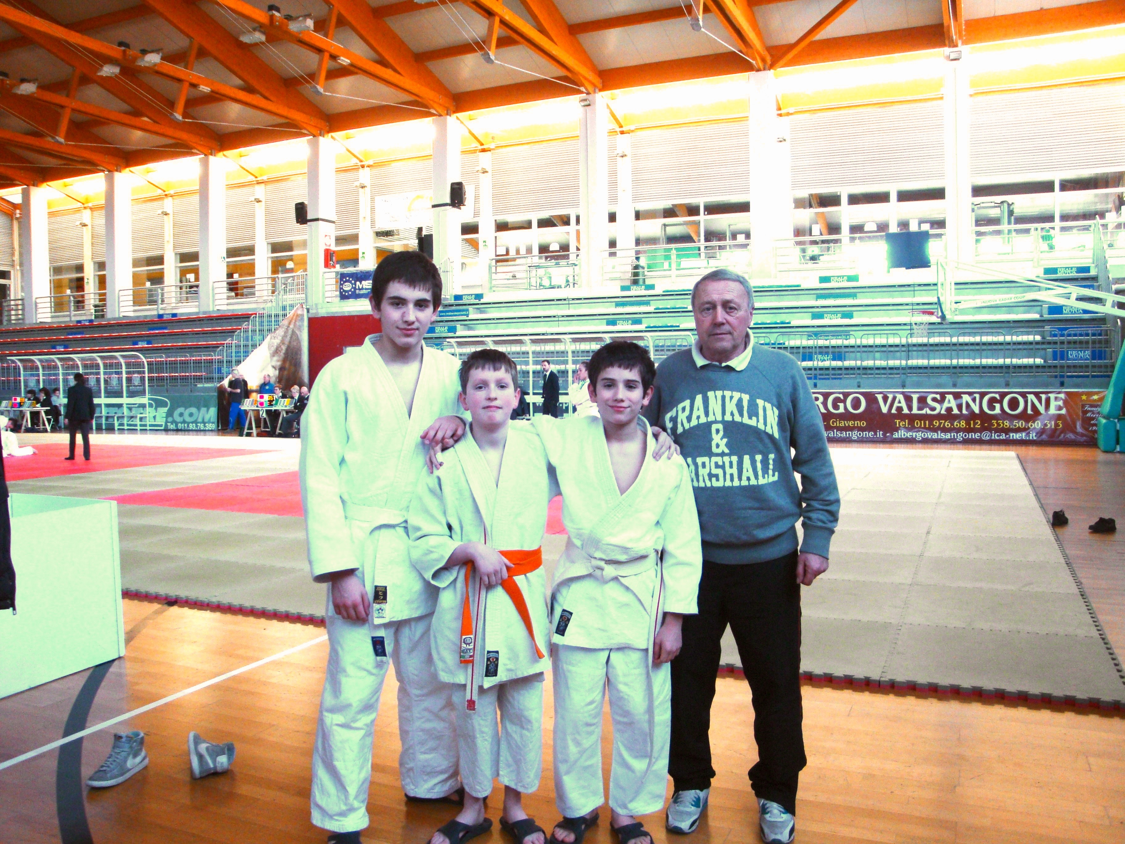 Judo: Campionati Piemontesi a Giaveno + Spaziofroma Biella
