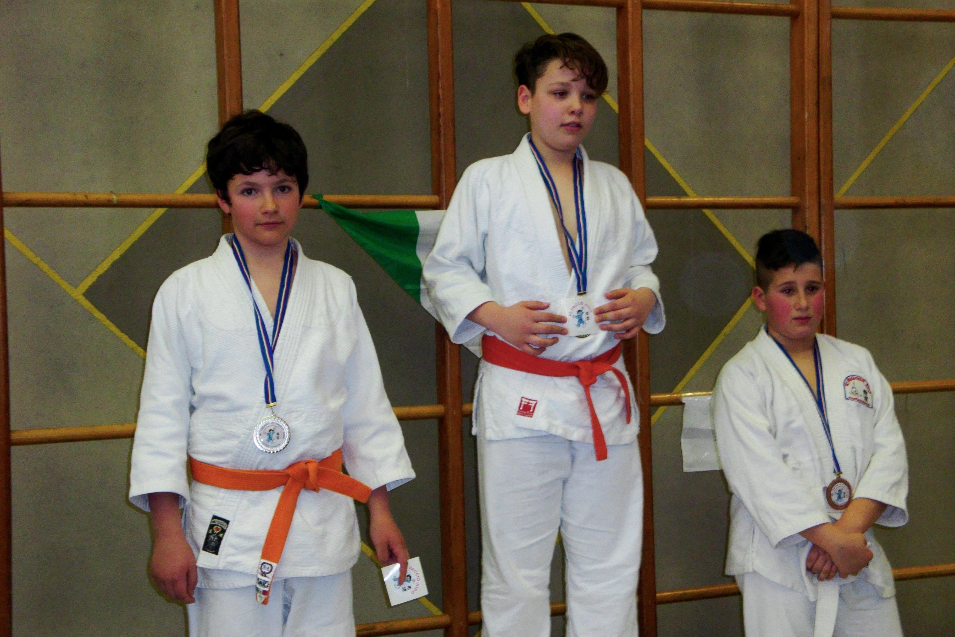 trofeo io faccio Judo + spazioforma Biella