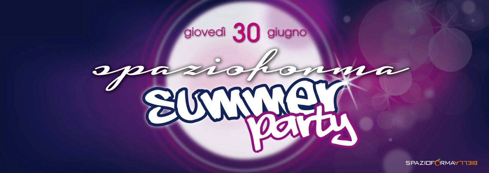 Summer Party + Spazioforma Biella